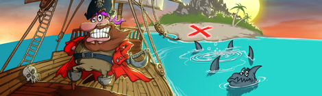 Go against wave after wave of enemy ships who are trying to destroy Woody and steal his treasure.